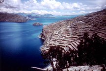 Bolivia - Island of the Sun in Lake Titicaca
