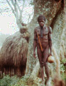Western New Guinea - tribesman in the Baliem Valley